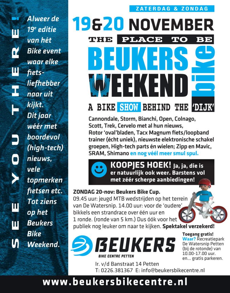 Beukers Bike Weekend Flyer