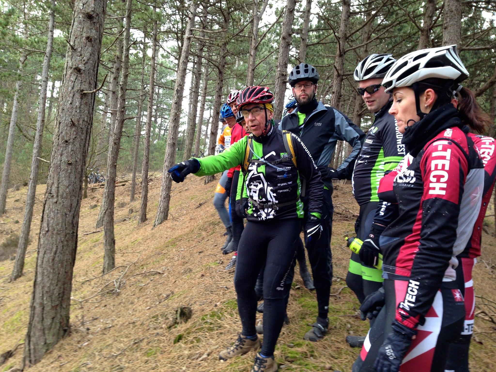 Nieuwe mountainbike route Schoorl