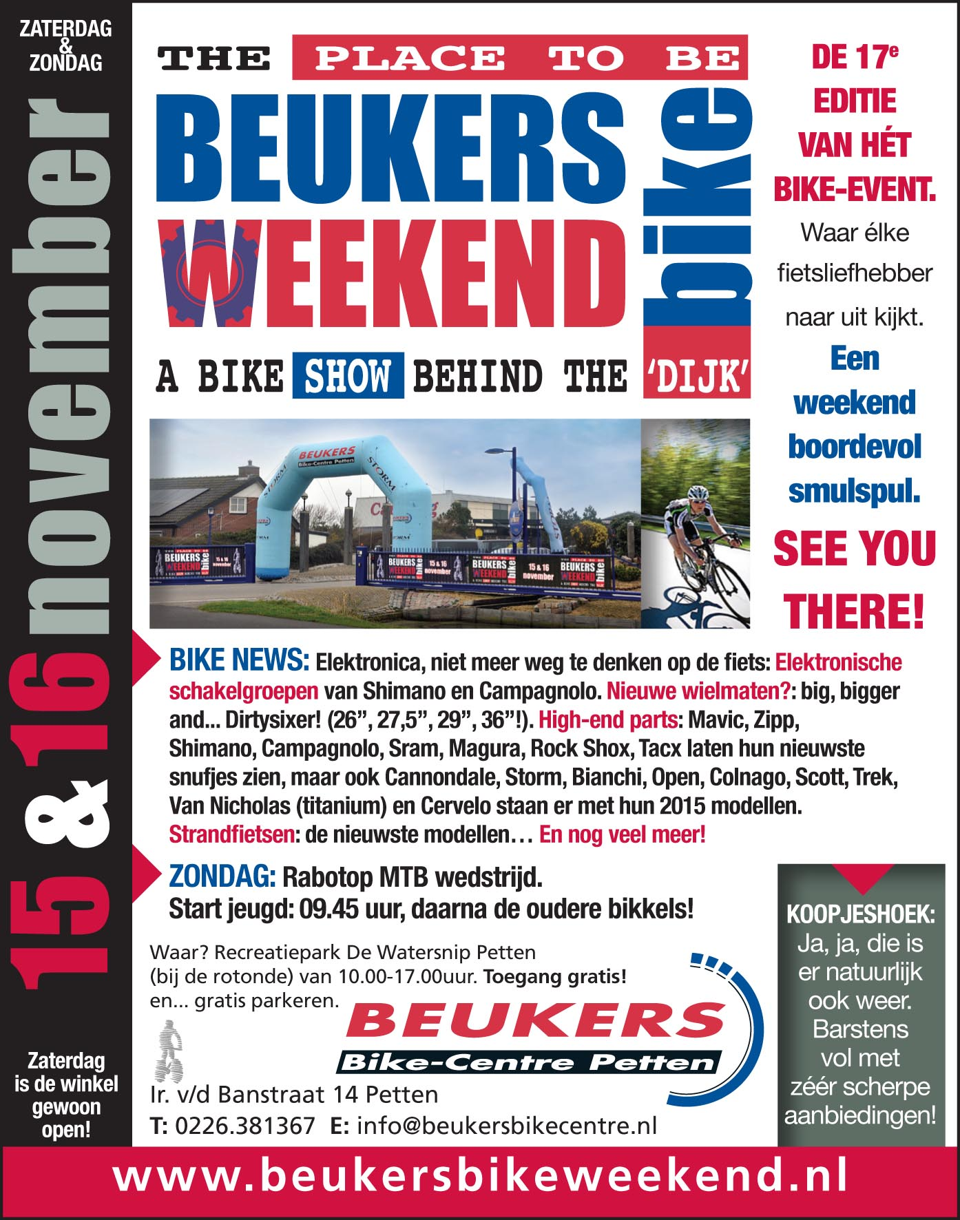 Beukers Bike Weekend 2014