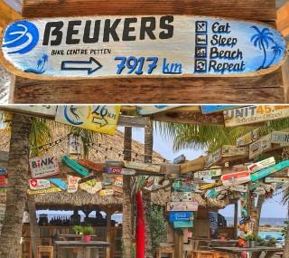 Beukers Bord Curacaoo