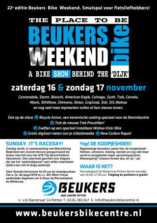 Beukers Bike Weekend flyer 2019