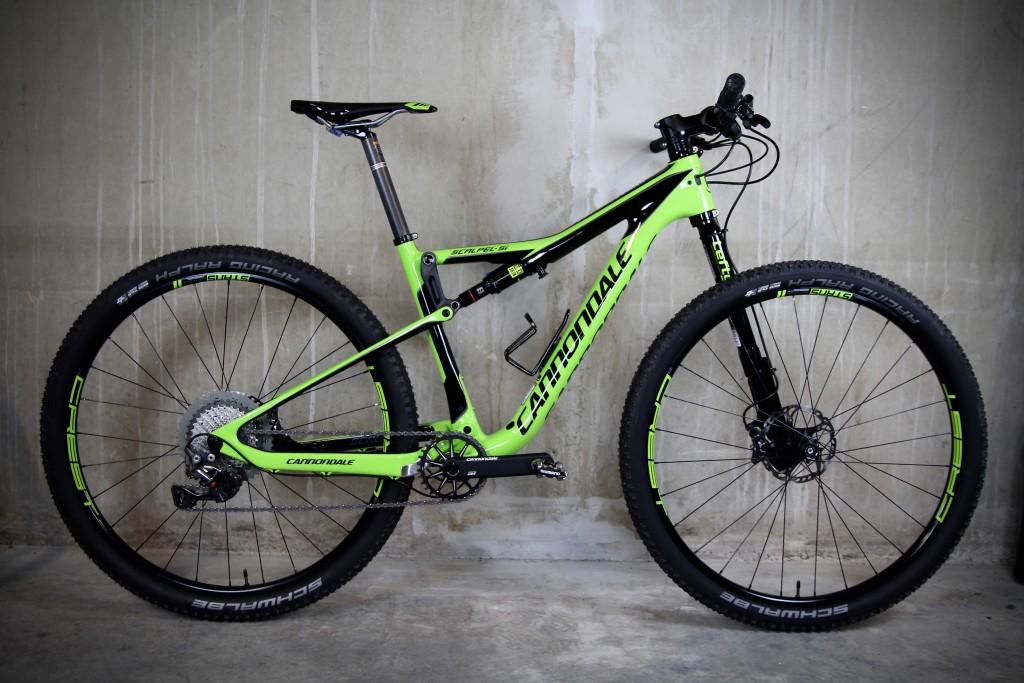 Scalpel Si test fiets