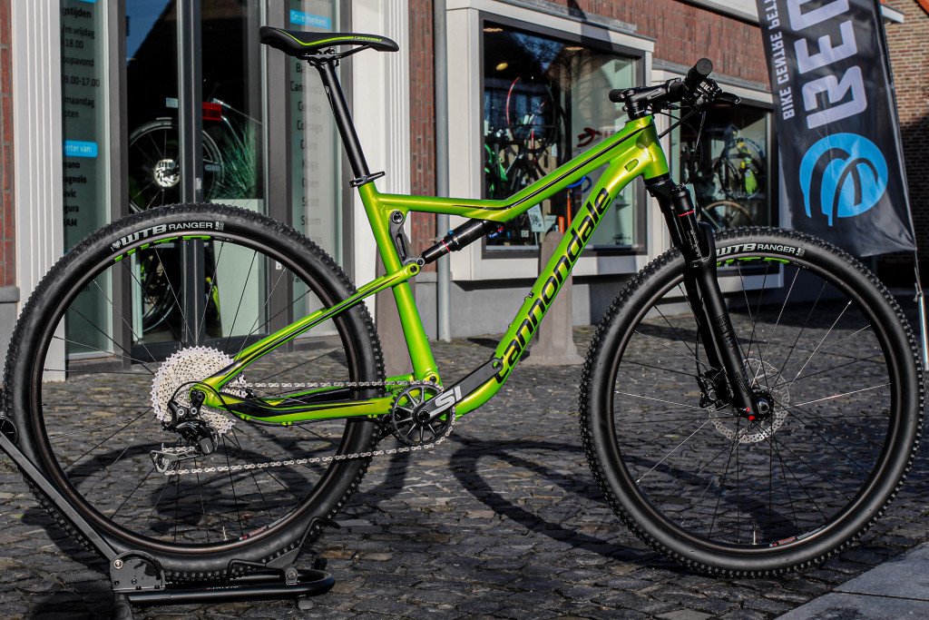 Cannondale Scalpel Si Green