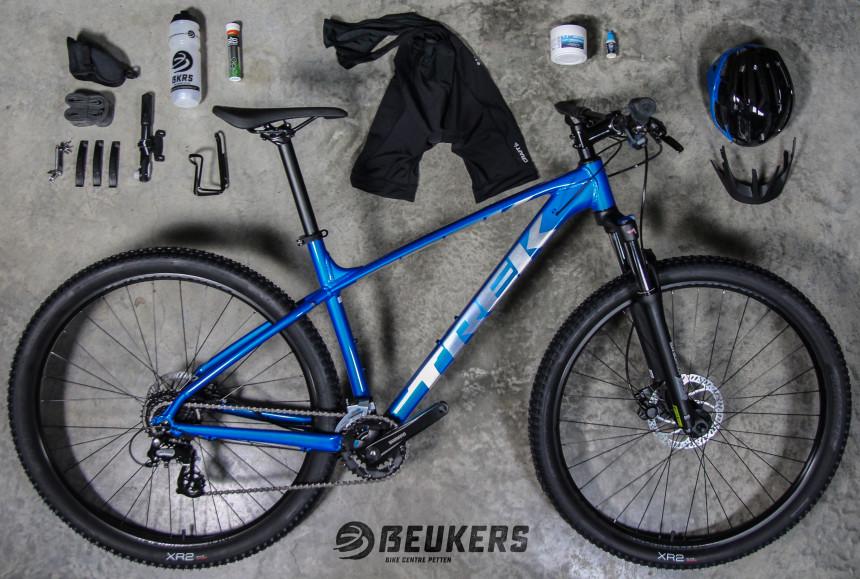 start met fietsen