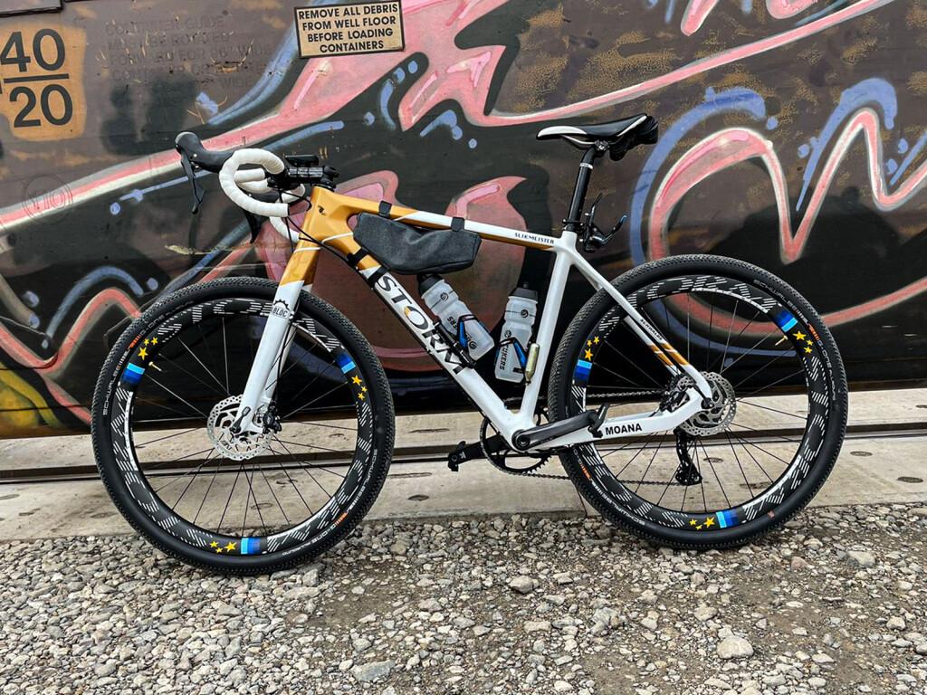 Winning bike unbound gravel 2021