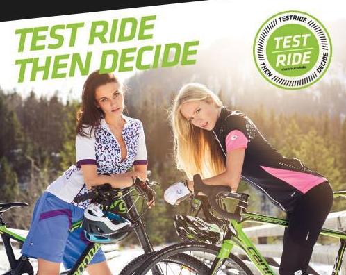 test fietsen beukers
