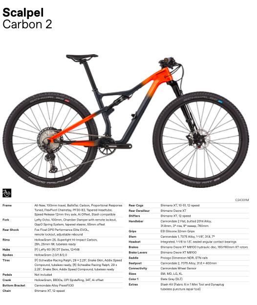 Nieuwe Cannondale Scalpel Carbon 2